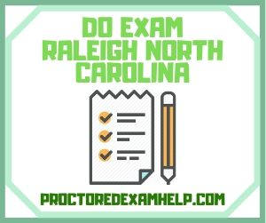 Do Exam Raleigh North Carolina