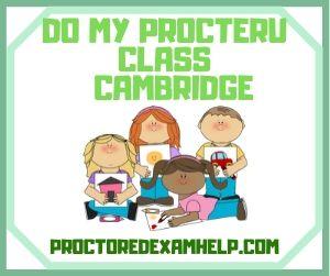 Do My ProcterU Class Cambridge