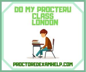 Do My ProcterU Class London