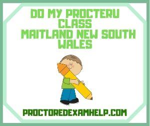Do My ProcterU Class Maitland New South Wales