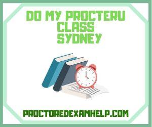 Do My ProcterU Class Sydney