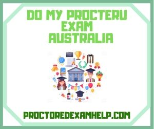 Do My ProcterU Exam Australia