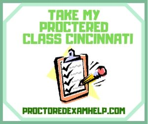 Take My Proctered Class Cincinnati